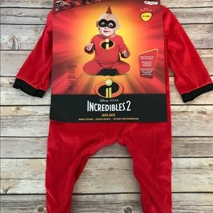 NWT Incredibles 2 Jack Jack costume 12-18 months